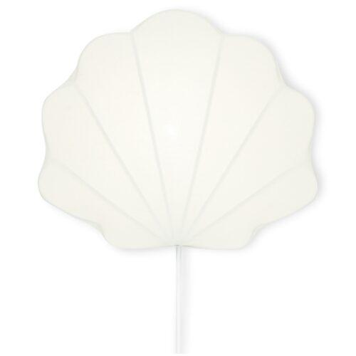 Konges Sløjd Lampe Clam Hvid