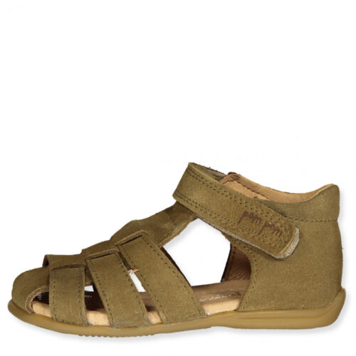 Starter sandal Pom Pom Olivengrøn