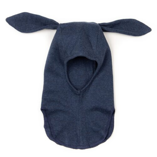 Elefanthue Rabbit Navy Bomuld Huttelihut