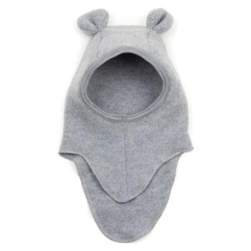 Elefanthue Teddy Light Grey Bomuld Huttelihut