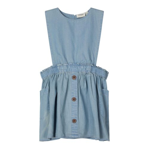 Kjole Nederdel Ingrid Light Blue Denim Lil Atelier