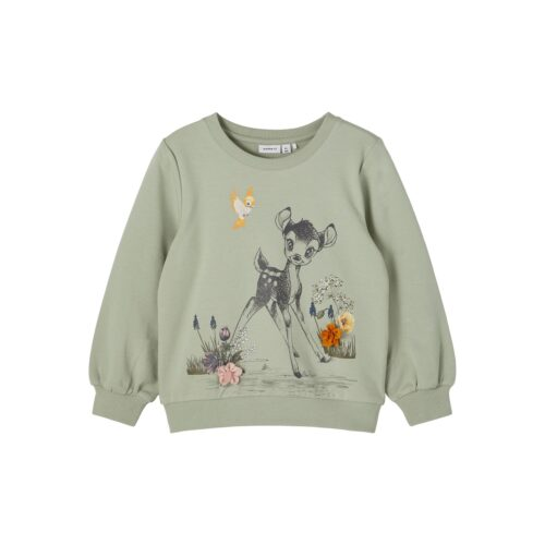 Name It Sweatshirt Bambi Grøn