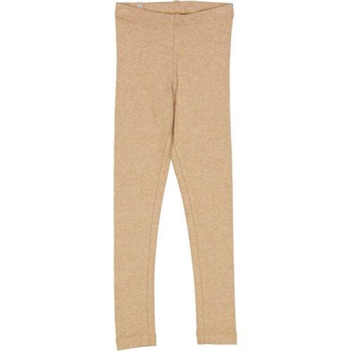 Leggings Rib Sand Melange Wheat