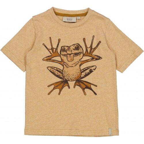 T-shirt Wheat Frø Brun Melange
