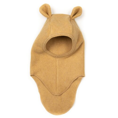 Elefanthue Teddy Ocre Bomuld Huttelihut