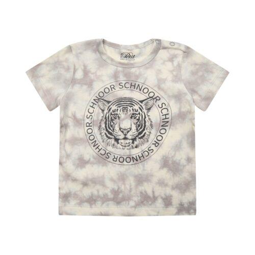 T-shirt Petit By Sofie Schnoor Tiger Warm Grey