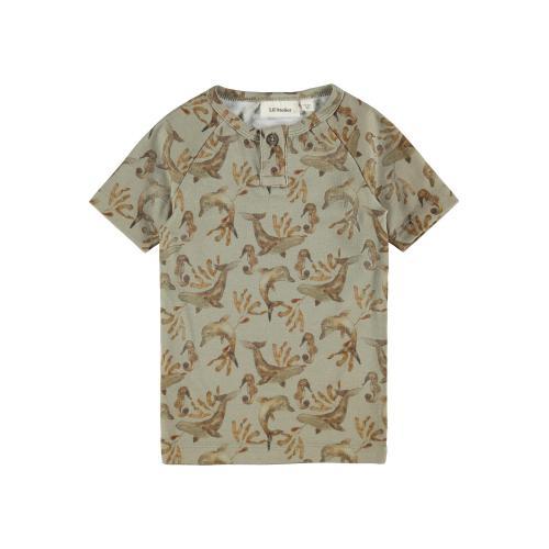 T shirt Lil Atelier Geo Silver Sage