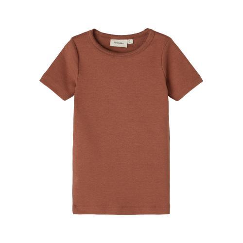 Tshirt Lil Atelier Gaya Carob Brown