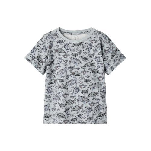 T shirt Name It Skildpadde Blå