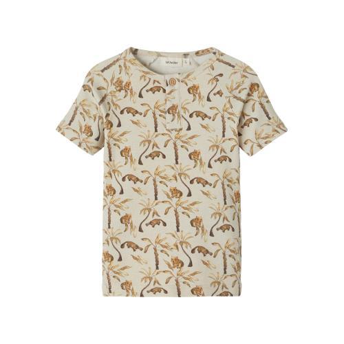 T shirt Lil Atelier Geo Turtledove