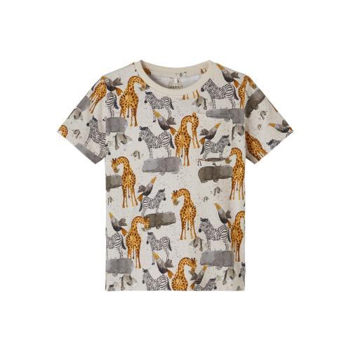 T shirt Name It Dyr Beige