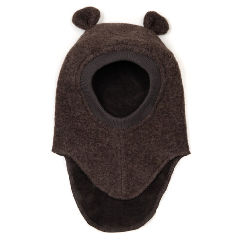 Huttelihut Elefanthue Plys Dark Brown