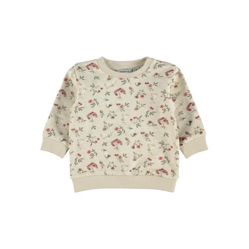 Name It Sweatshirt Nikoline Peyote Melange