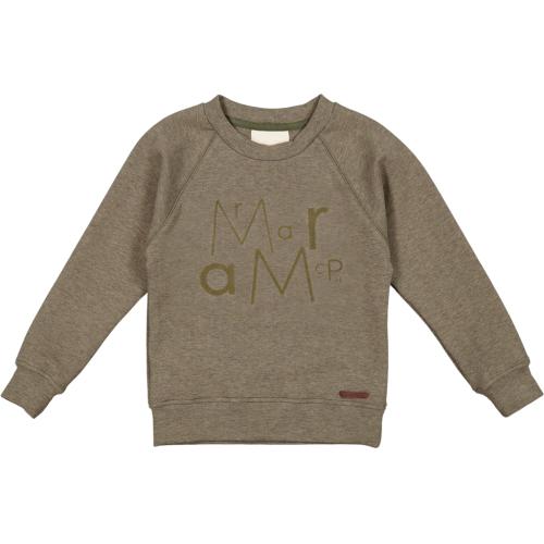 Marmar Sweatshirt Meleret Grøn