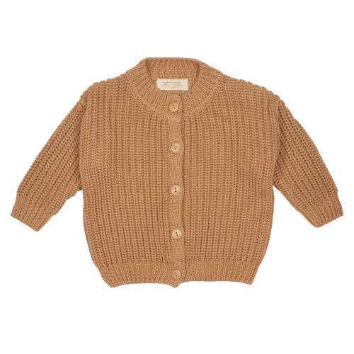 Petit Piao Cardigan Chunky Knit Beige
